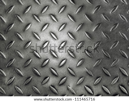 Background of metal diamond - stock photo
