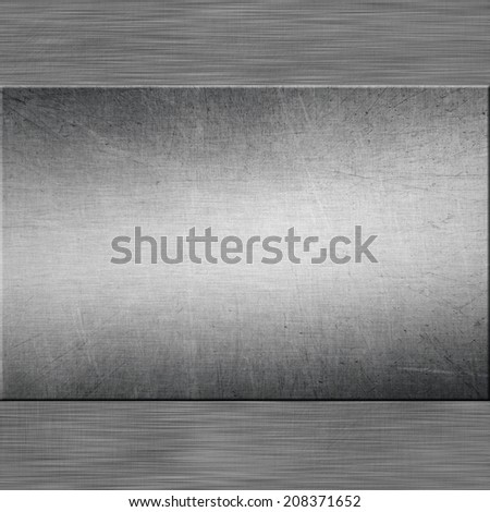 Background of metal template textured.