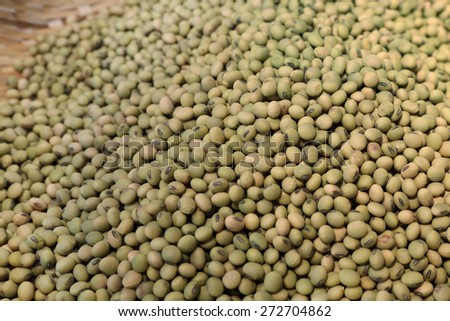 background of mung beans - stock photo