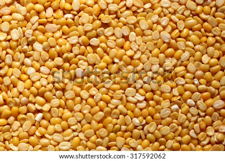 Background of Mung Lentils  - stock photo