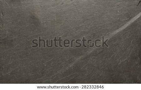 Background of natural black slate - stock photo