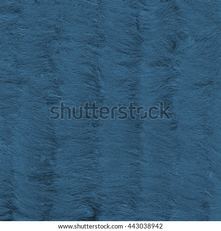 background of natural painted blue fur texture