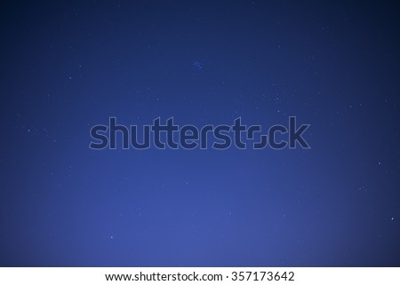 background of night sky - stock photo