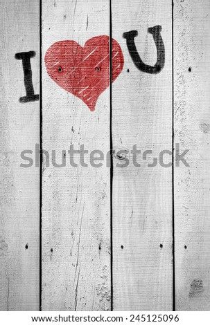Background of old, cracked wooden planks painted white - stock photo