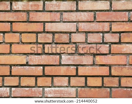 Background of old grunge brick wall