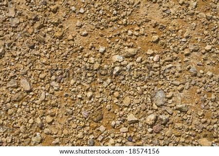 Background of orange rocks - stock photo