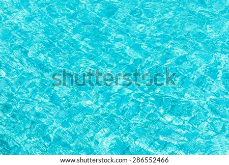 Background of pool water texture. - stock photo