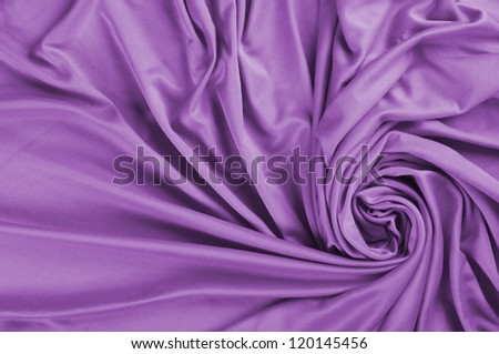 Background of purple satin fabric - stock photo