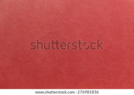 background of red mulberry paper