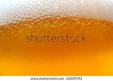 background of refreshing beer texture - stock photo