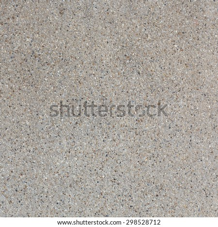background of sand and small gravel stone texture - stock photo