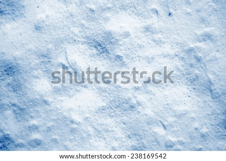 background of snow - stock photo