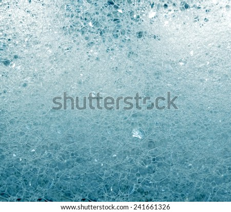 background of soap foam and bubbles - stock photo