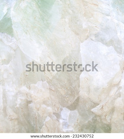 Background of stones into beautiful green stone. - stock photo