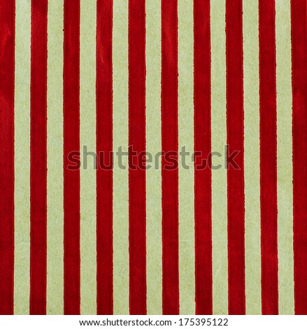 background  of  Striped gift bag isolated on the white background - stock photo