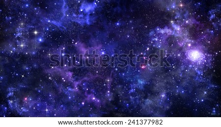 background of the night sky  - stock photo