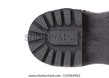 Background of the rubber soles. - stock photo