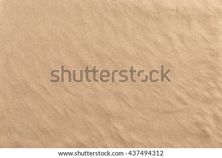 Background of the silica sand. Silica sand not is plan surface.