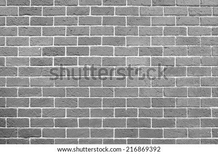 Background of vintage brick wall  - stock photo