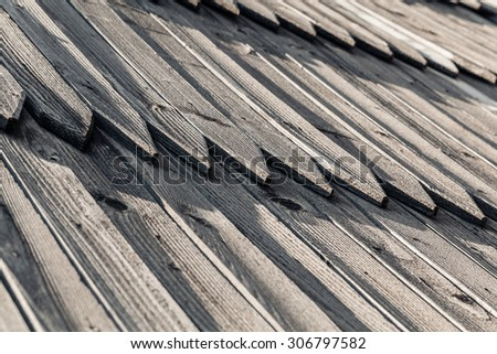 background of vintage, old pine boards close-up