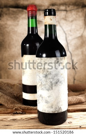 background of wall and wine