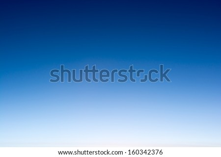 background of white detail in a blue sky  - stock photo