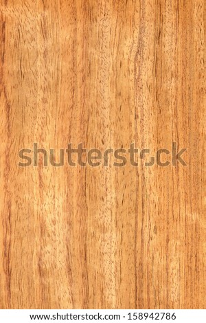 background of wood grain from Bubinga wood, or Guibourtia demeusei, aka kevazingo, a high quality timber from Africa - stock photo