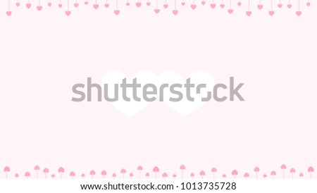 Background On Valentines Day Theme There Stock Illustration ...
