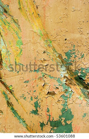 Background painted rusty metal