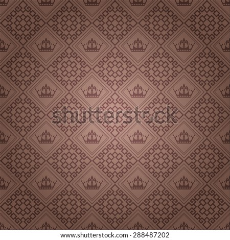 Background pattern. Asian style texture: Chinese, Japanese, Indian. Geometric pattern. Modern wallpaper for your design. Wallpaper pattern.