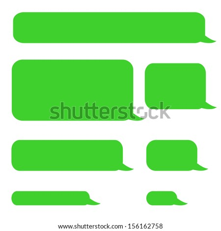how to make iphone messages green
