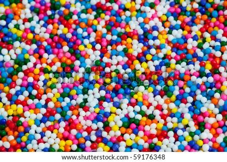 Background Rainbow Colored - stock photo