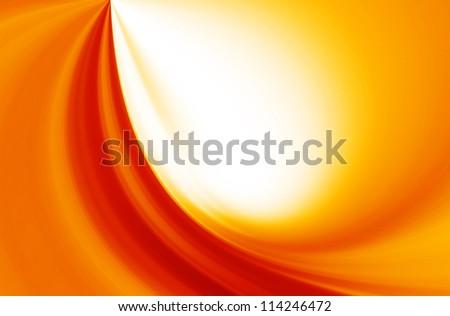 background red orange - stock photo