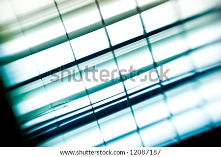 background series: square shaped light texture in blue