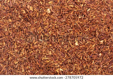 background tea rooibos - stock photo