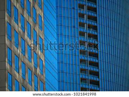 modern architecture skyscrapers. Exellent Skyscrapers Background Texture Of A Modern Architecture Skyscraperu0027s Facade With  Symmetrical Blue Glass Windows And Balconies Inside Modern Architecture Skyscrapers