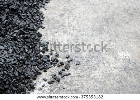 Background texture of an asphalt close up - stock photo