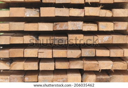 Background texture of coconut wood.
