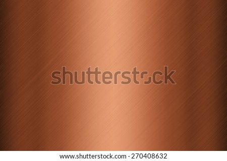 Background texture of copper plate surface - stock photo
