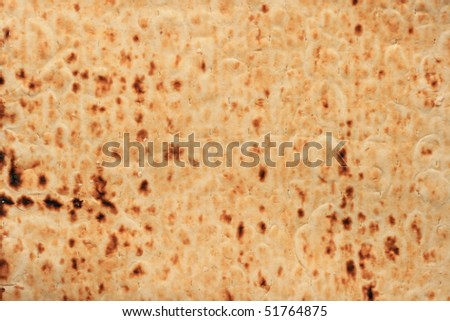 background texture of lavash, an Armenian flat bread