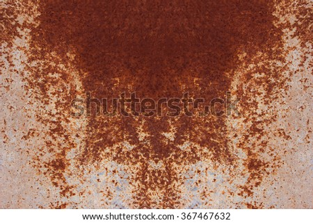 Background texture of Rusted steel. old metal iron rust background and texture - stock photo