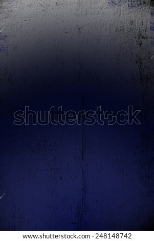 Background, texture. Old cracked plate, dark blue, black, grey - stock photo