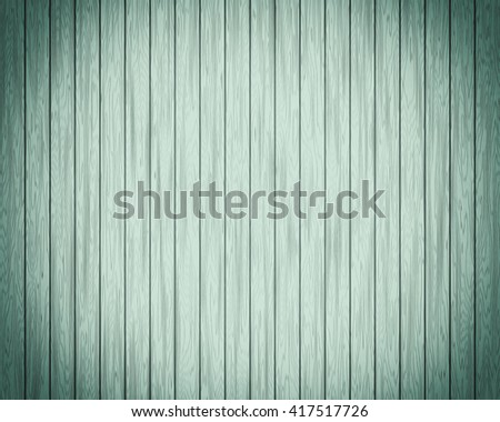 Background texture wooden panel, turquoise. A bright and decorative background vignette, a basis for design, with structure of a tree. Modern style. - stock photo
