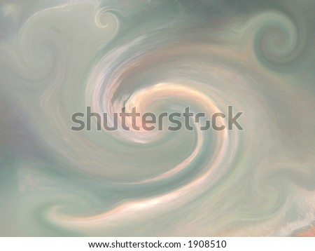 Background twirl from mother of pearl closeup - stock photo