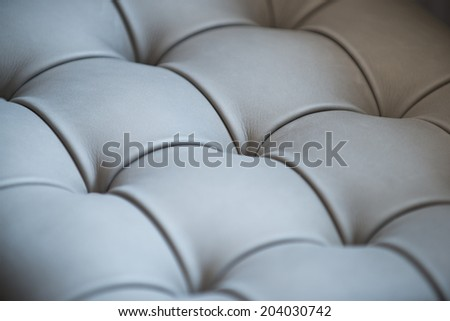 Background upholstery leather, furniture and interior details - stock photo