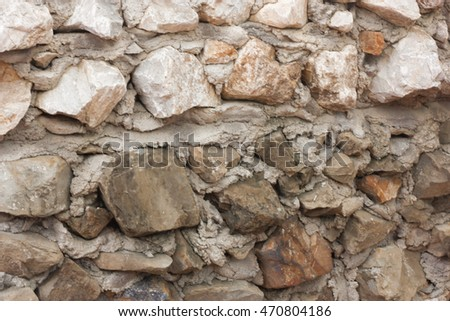 Background wall stones
