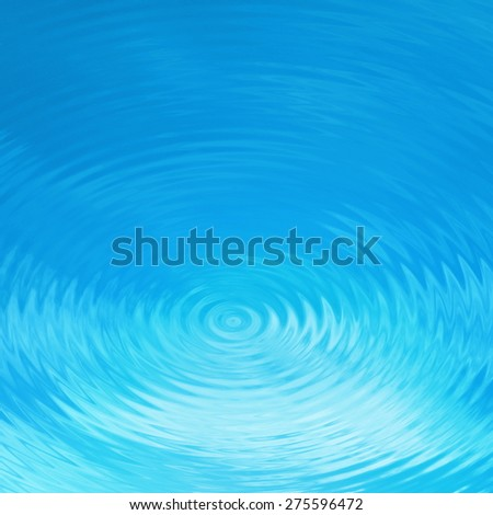Background water effect