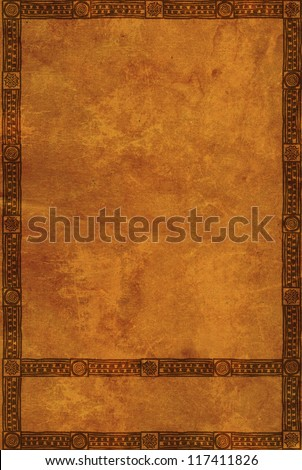 Background with American Indian traditional patterns - stock photo