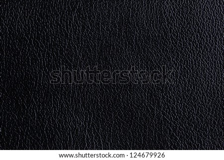 Background with black texture of leather