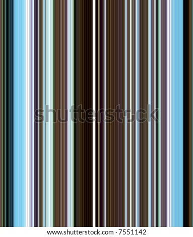 background with blue and brown stripes - stock photo